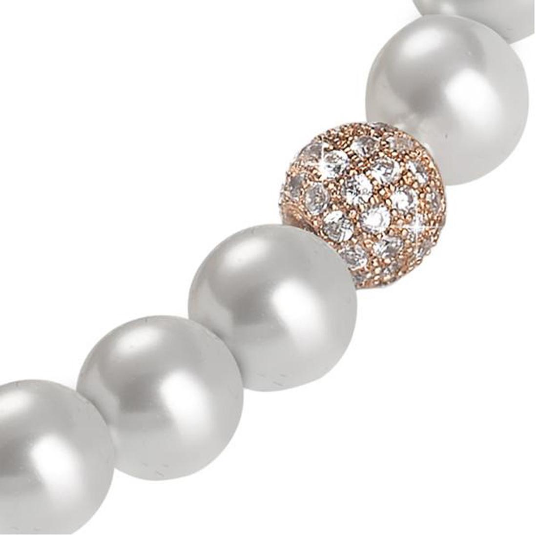 b995a2faebac8b BOCCADAMO Bracciale Perle Swarovski, Argento e Zirconi BR466RS – il gioiello